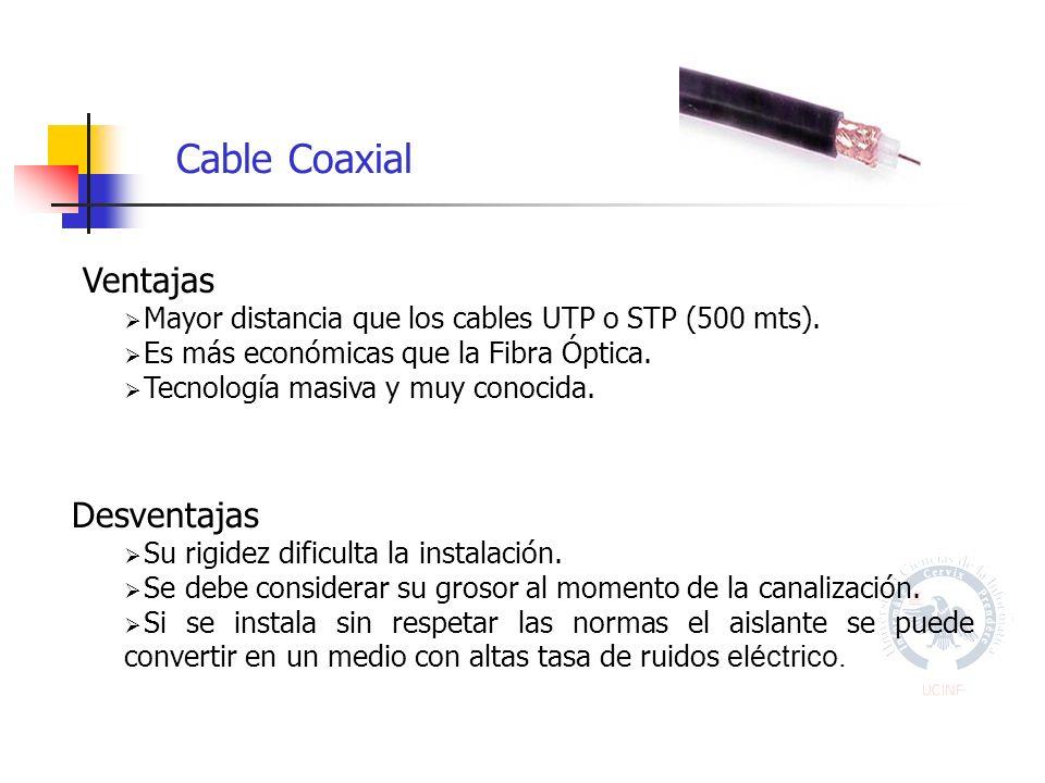 Cable Coaxial Ventajas Desventajas