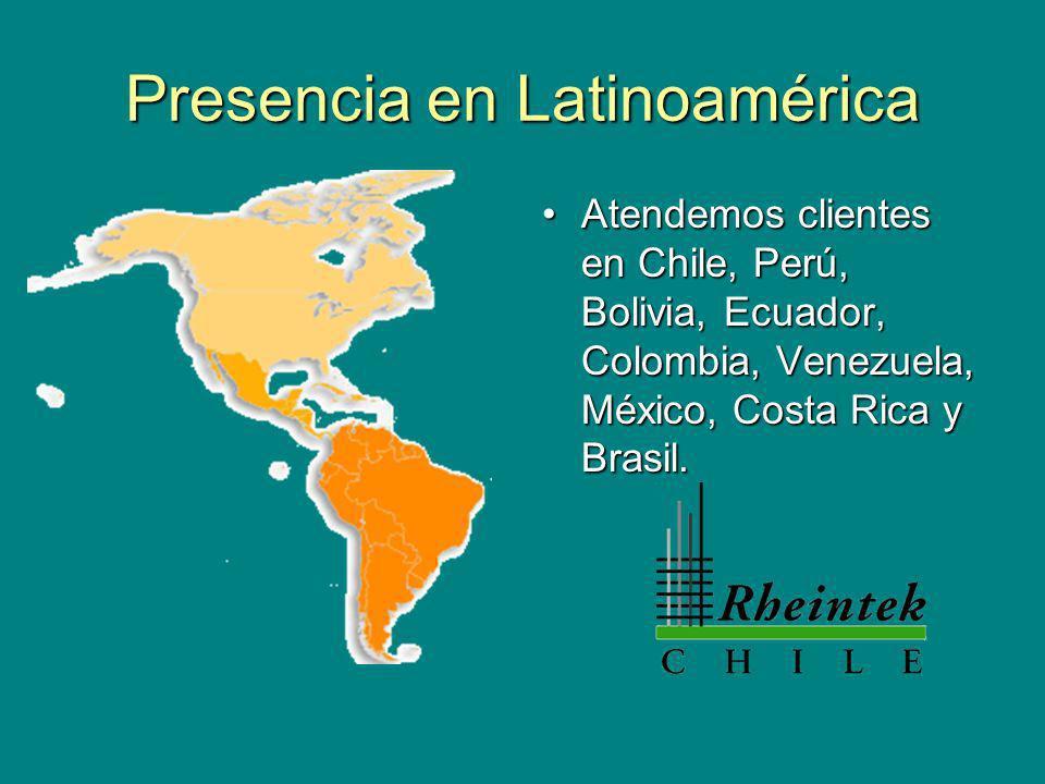 Presencia en Latinoamérica