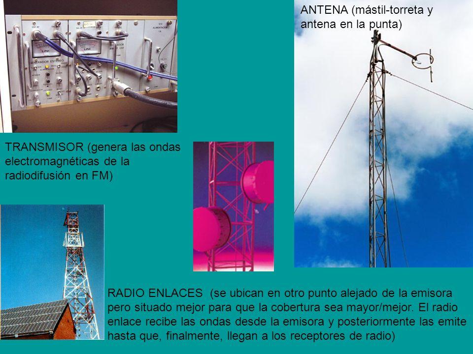 ANTENA (mástil-torreta y antena en la punta)