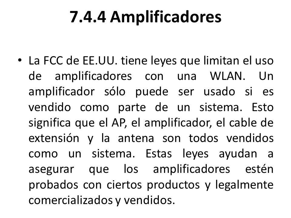 7.4.4 Amplificadores