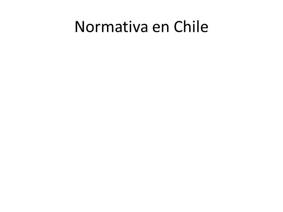 Normativa en Chile