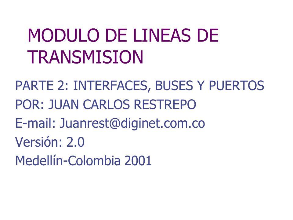 MODULO DE LINEAS DE TRANSMISION