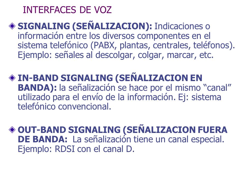INTERFACES DE VOZ