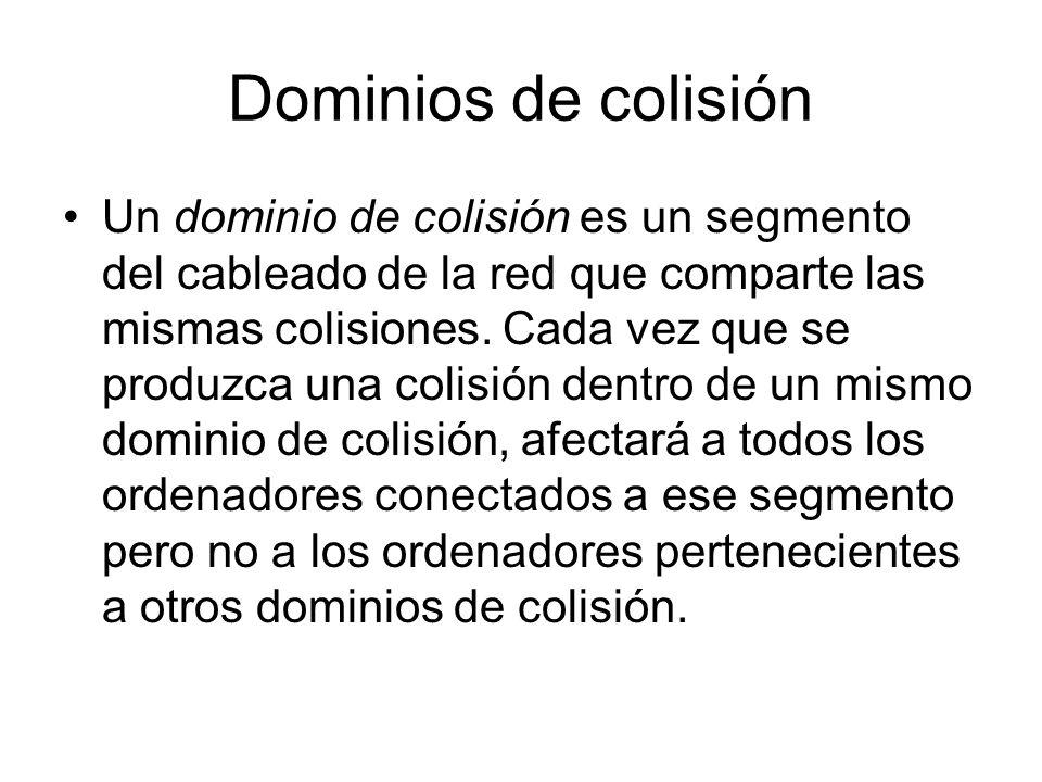 Dominios de colisión