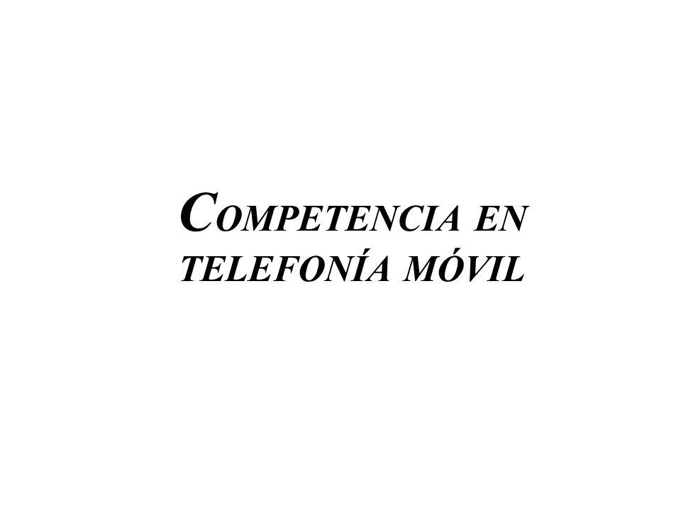 COMPETENCIA EN TELEFONÍA MÓVIL