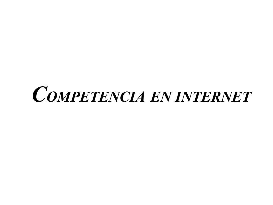 COMPETENCIA EN INTERNET