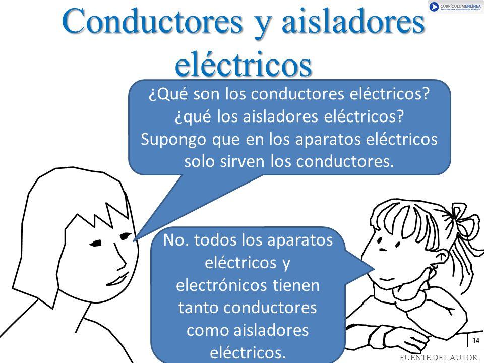 Conductores y aisladores eléctricos