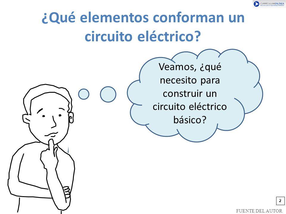 ¿Qué elementos conforman un circuito eléctrico