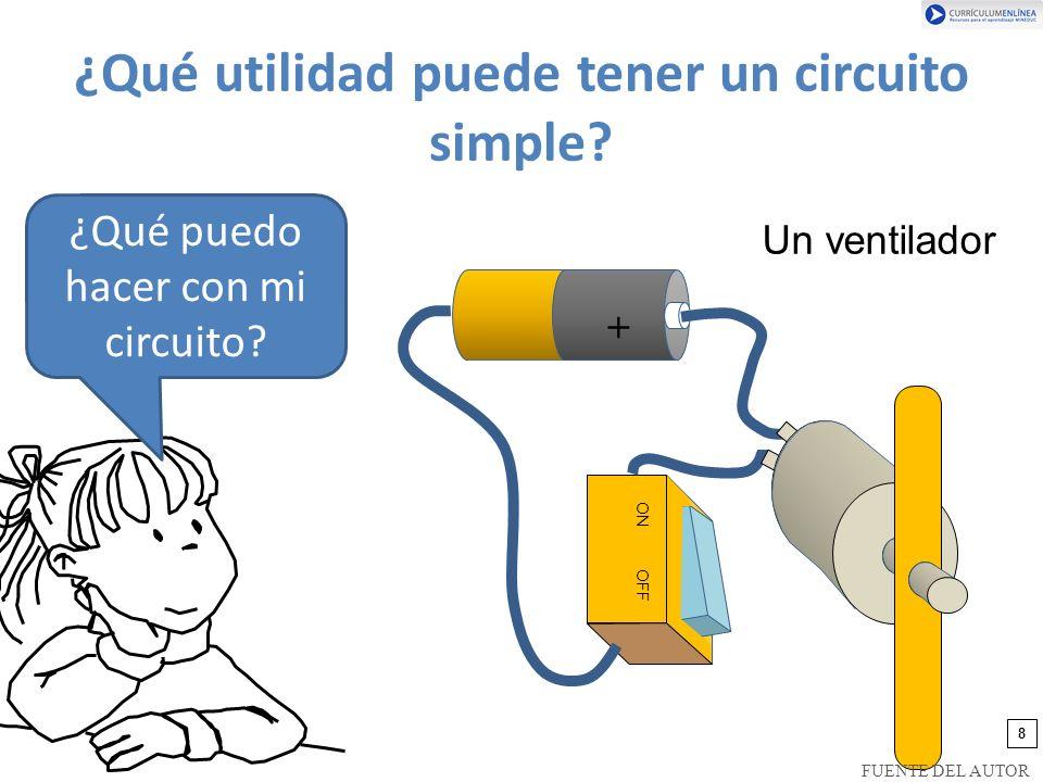¿Qué utilidad puede tener un circuito simple