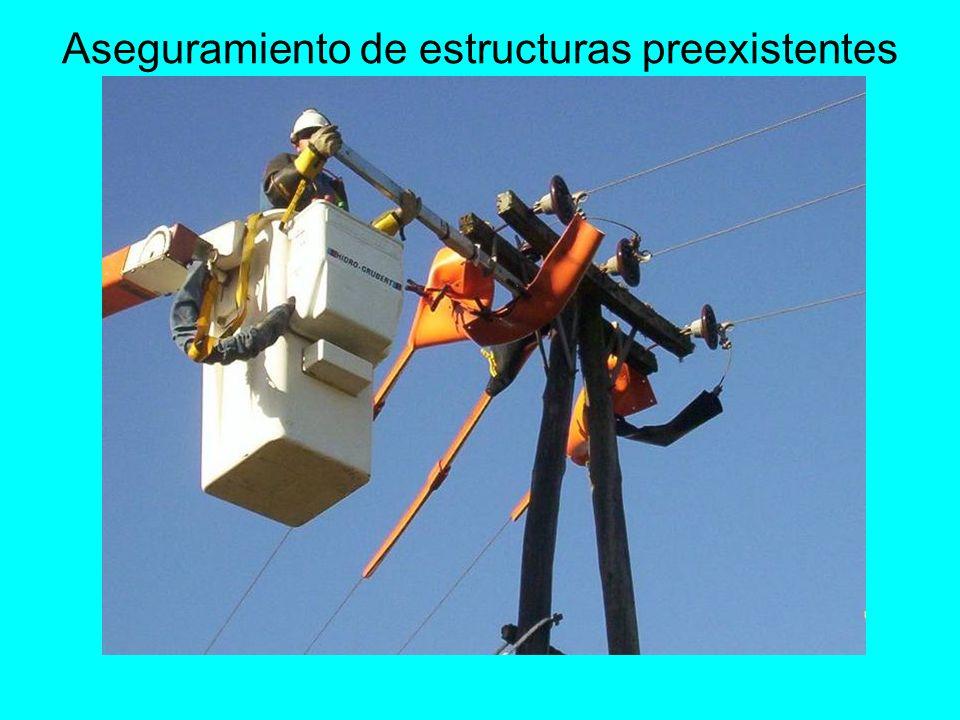 Aseguramiento de estructuras preexistentes