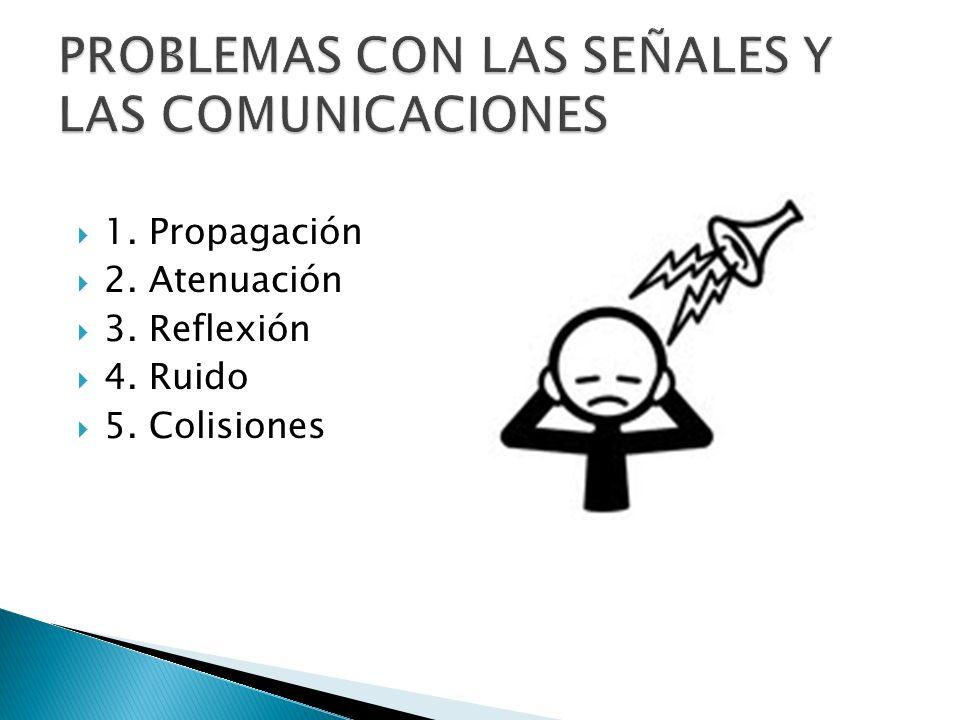 PROBLEMAS CON LAS SEÑALES Y LAS COMUNICACIONES
