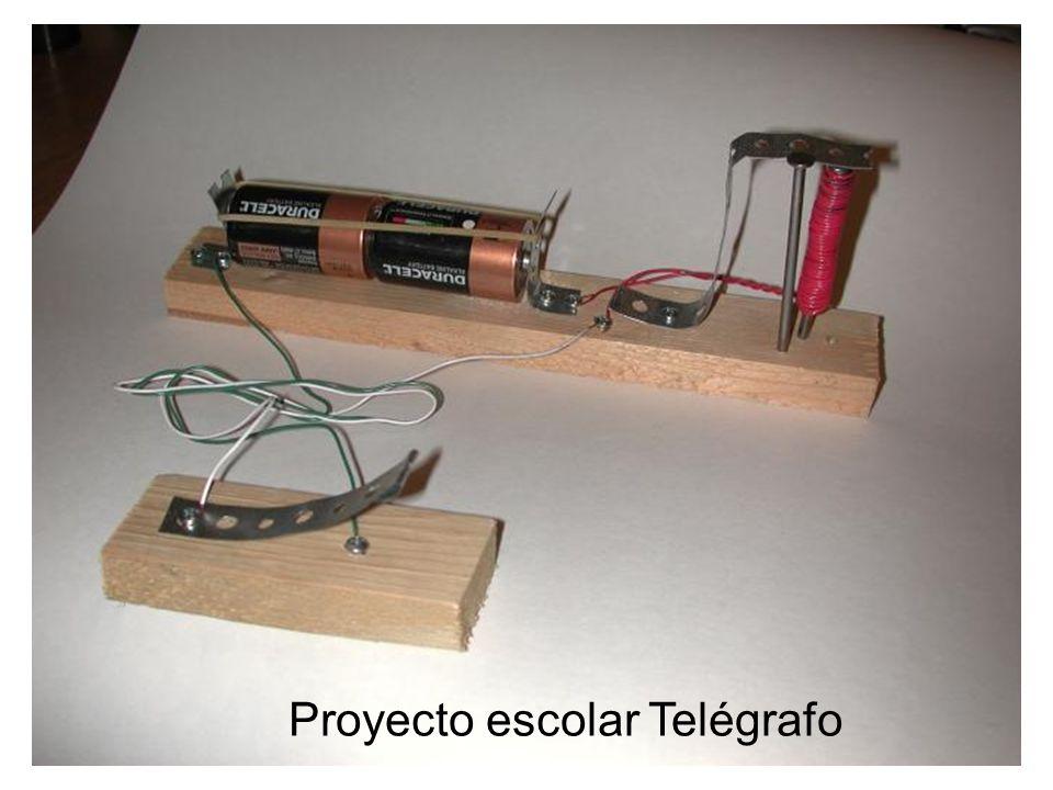 Proyecto escolar Telégrafo