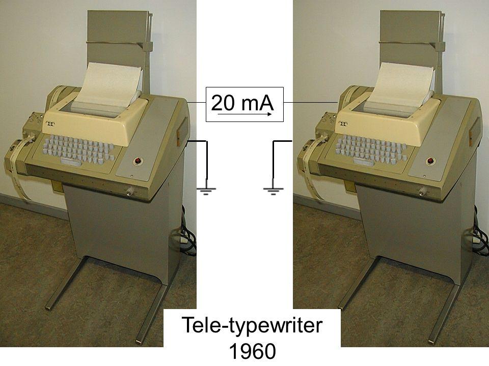 20 mA Tele-typewriter 1960