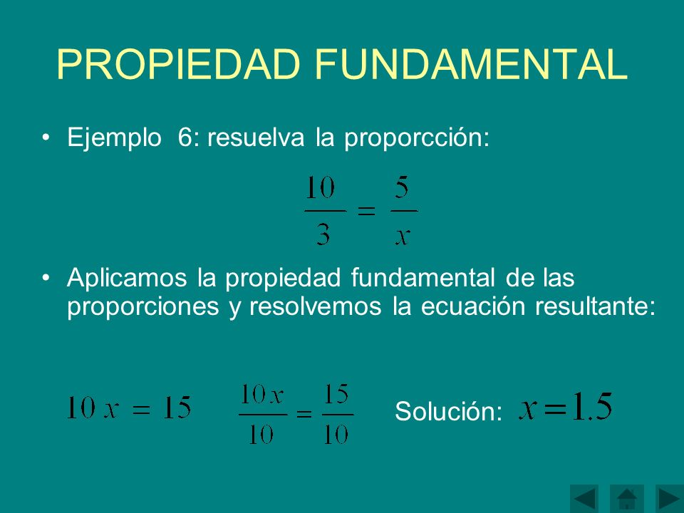 PROPIEDAD FUNDAMENTAL