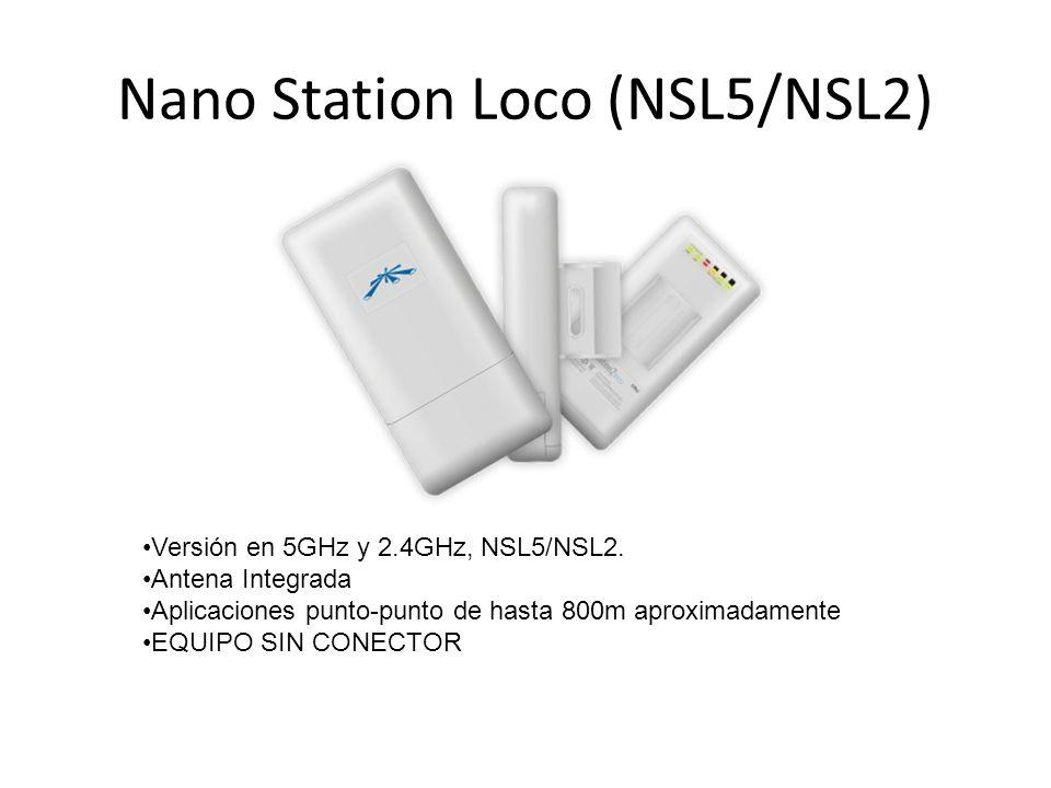Nano Station Loco (NSL5/NSL2)