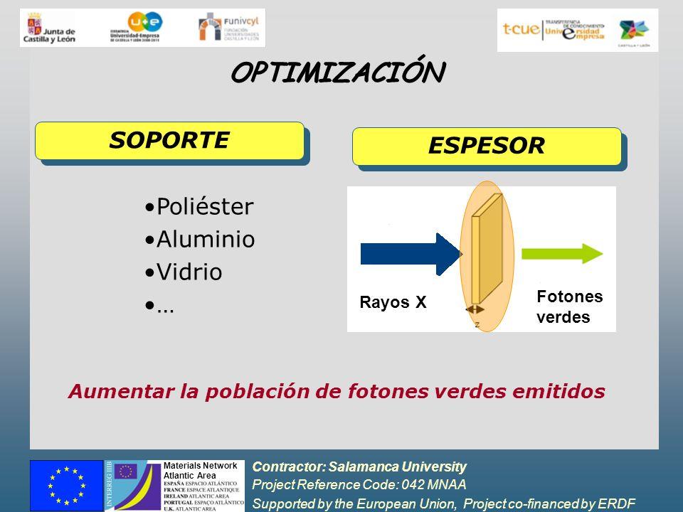Aumentar la población de fotones verdes emitidos