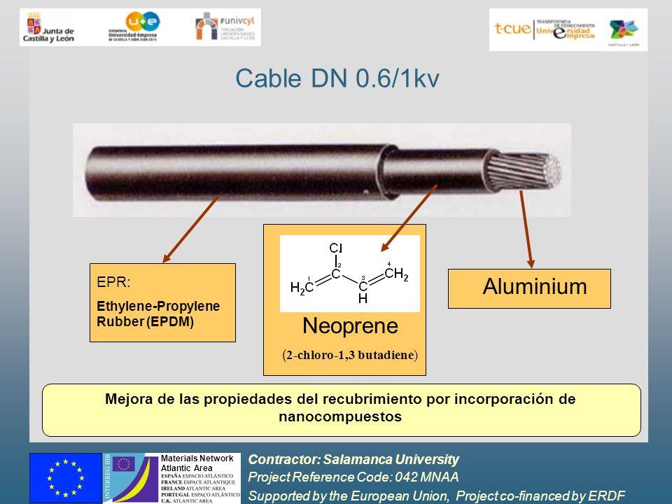 Cable DN 0.6/1kv Aluminium Neoprene EPR:
