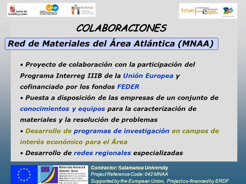 COLABORACIONES Red de Materiales del Área Atlántica (MNAA)