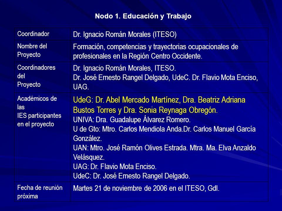 UdeG: Dr. Abel Mercado Martínez, Dra. Beatriz Adriana