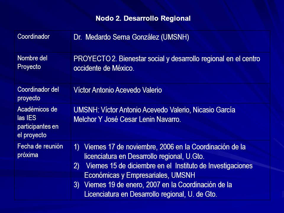 Dr. Medardo Serna González (UMSNH)