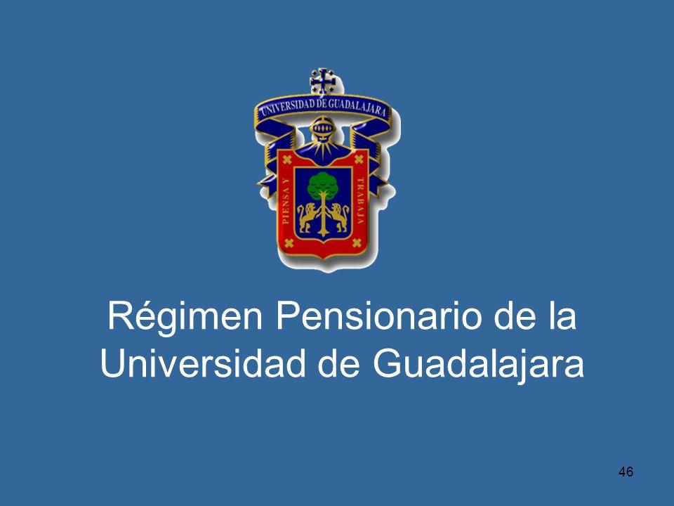 Régimen Pensionario de la Universidad de Guadalajara