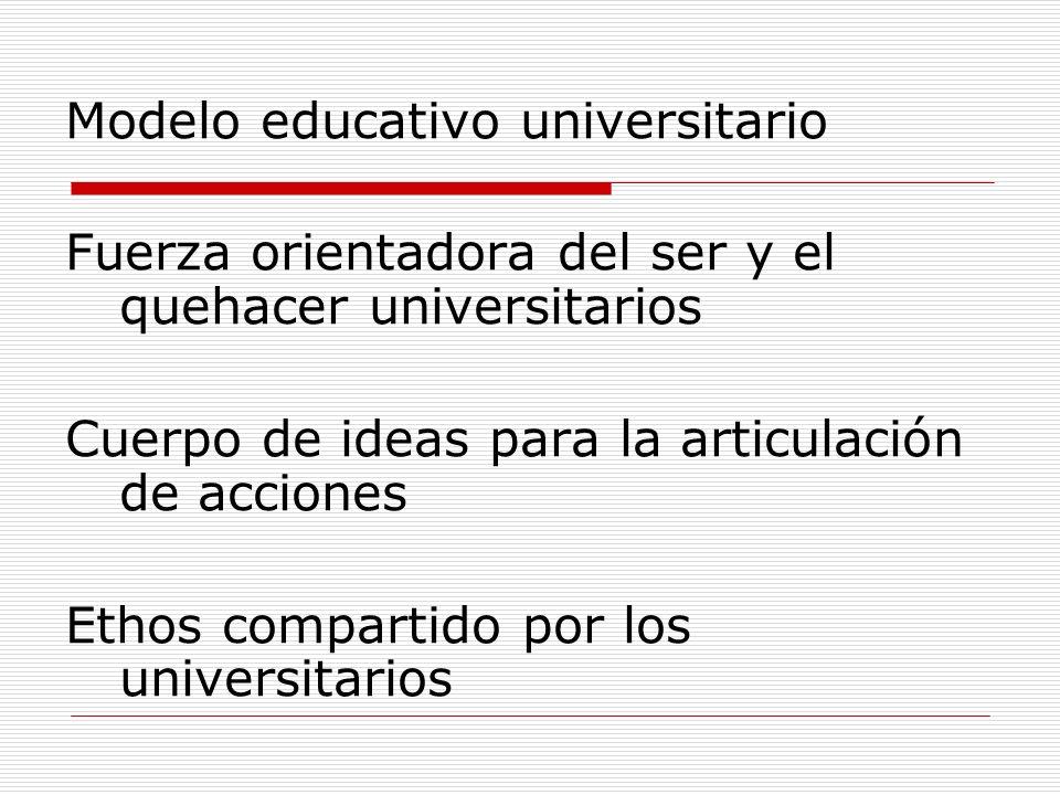 Modelo educativo universitario