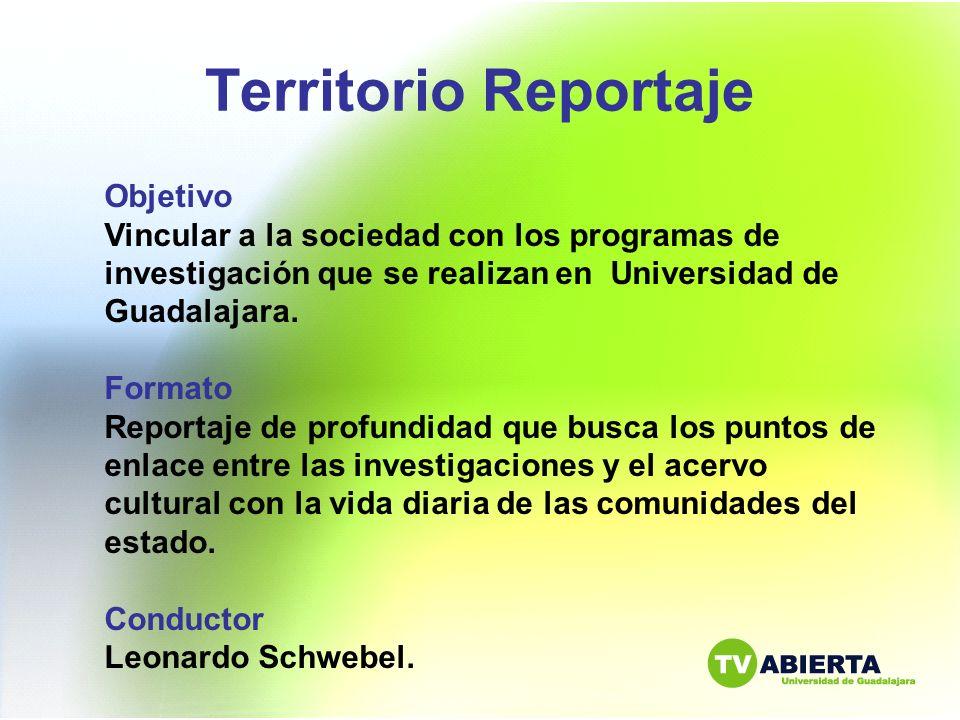 Territorio Reportaje Objetivo