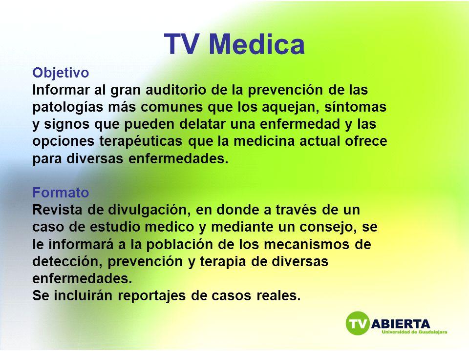 TV Medica Objetivo.