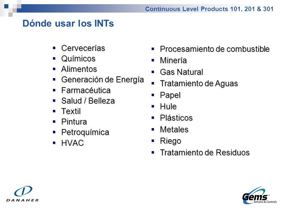 Vistazo General del Grupo de Productos – Sensores de Nivel Ultrasónicos