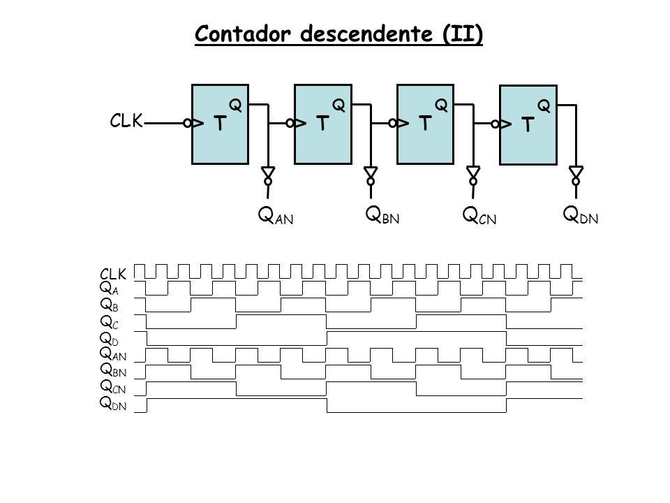 Contador descendente (II)