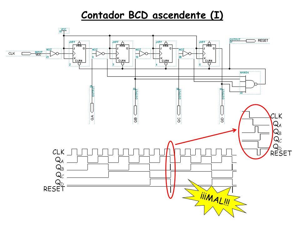 Contador BCD ascendente (I)