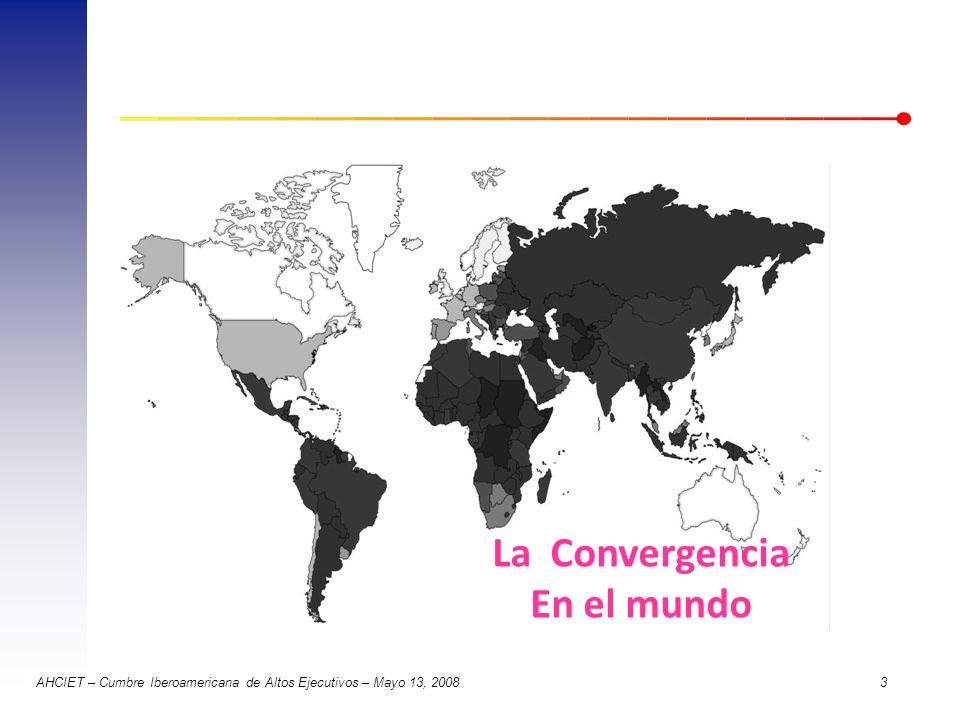 La Convergencia En el mundo