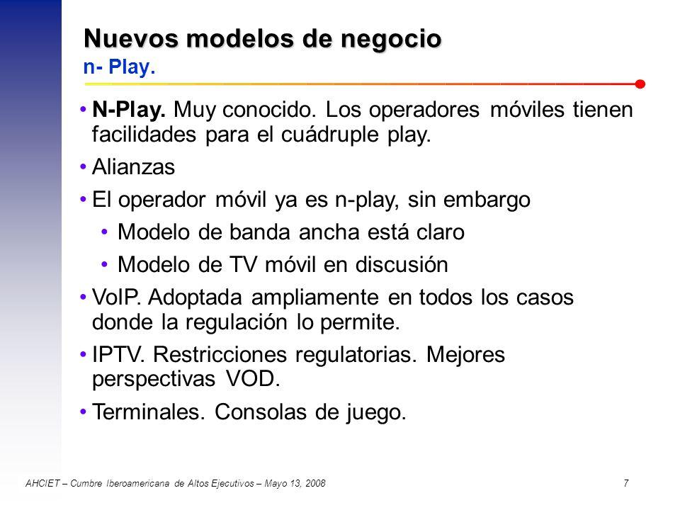 Nuevos modelos de negocio n- Play.