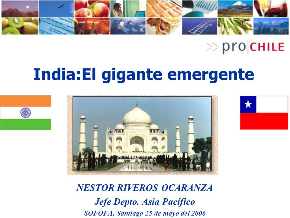 India:El gigante emergente