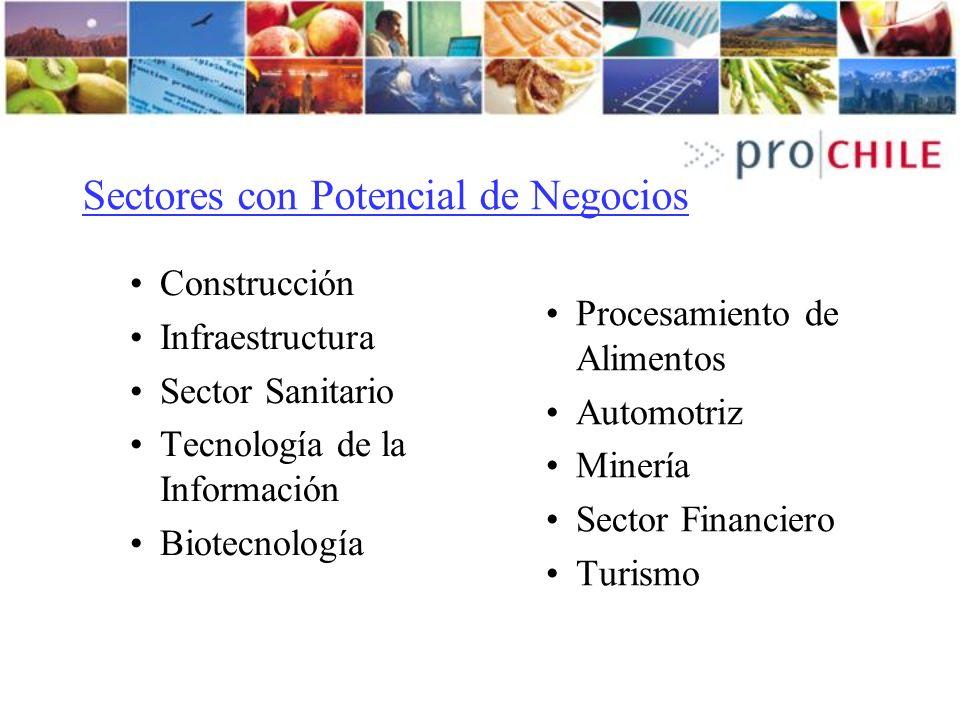 Sectores con Potencial de Negocios