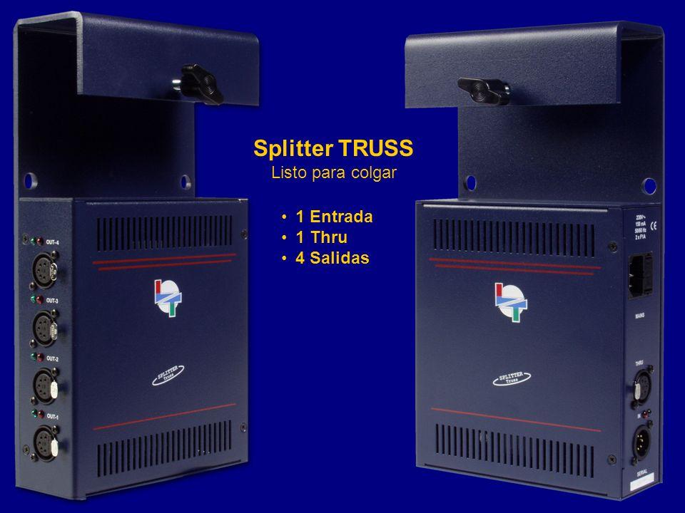 Splitter TRUSS Listo para colgar 1 Entrada 1 Thru 4 Salidas