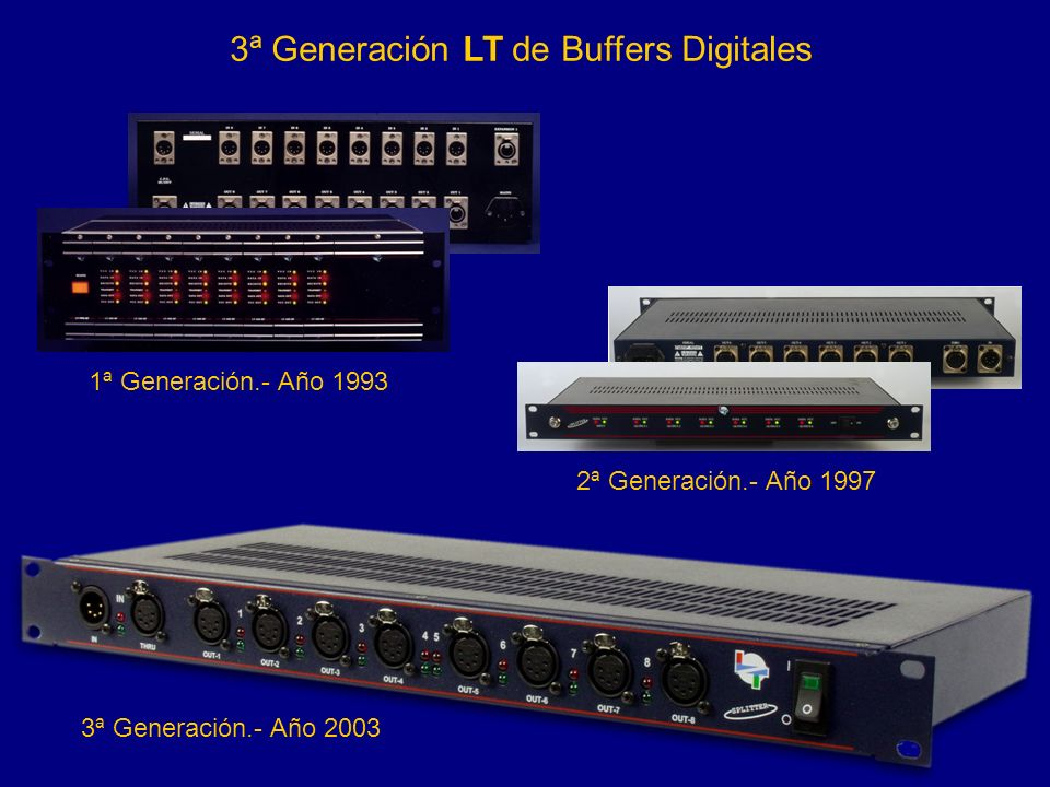 3ª Generación LT de Buffers Digitales