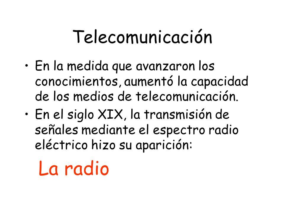 La radio Telecomunicación