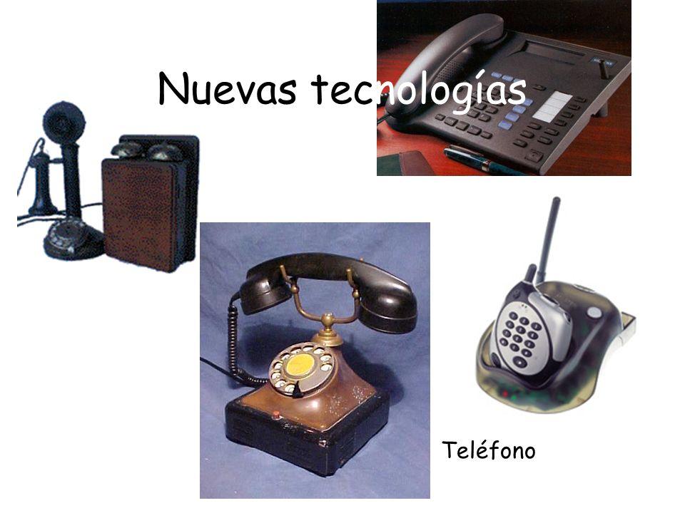 Nuevas tecnologías Teléfono
