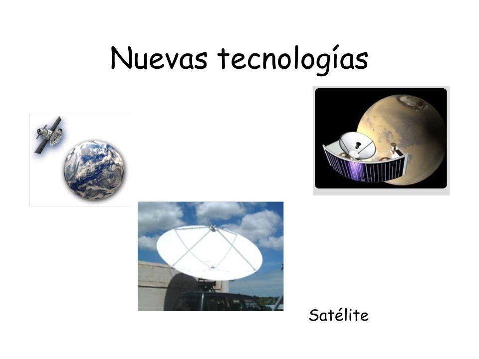 Nuevas tecnologías Satélite