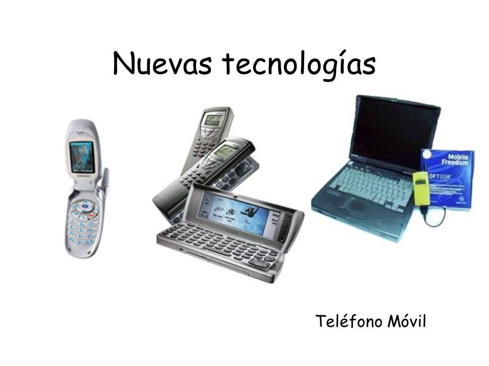 Nuevas tecnologías Teléfono Móvil