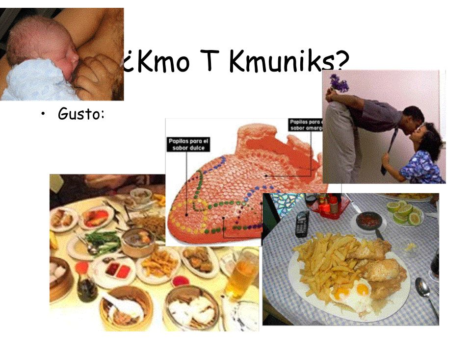 ¿Kmo T Kmuniks Gusto: