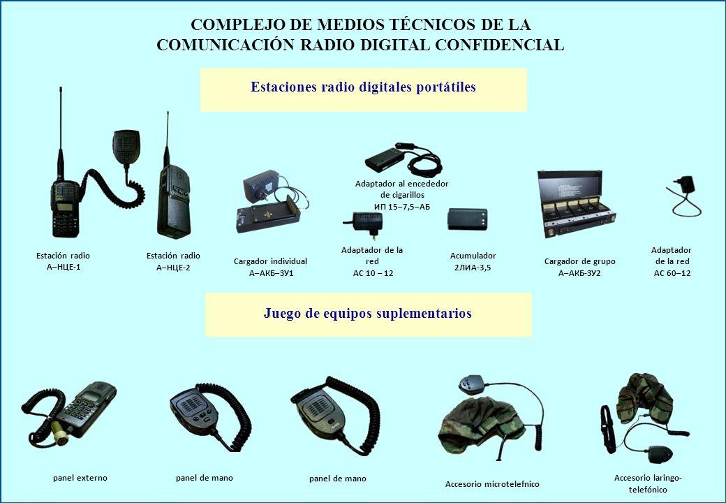 COMPLEJO DE MEDIOS TÉCNICOS DE LA