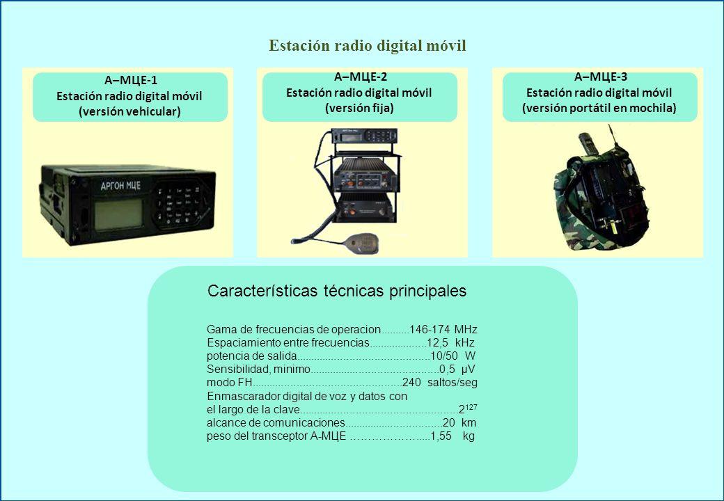 Estación radio digital móvil