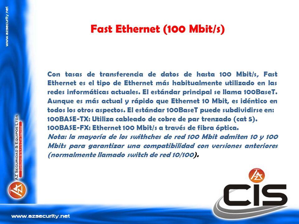 Fast Ethernet (100 Mbit/s)