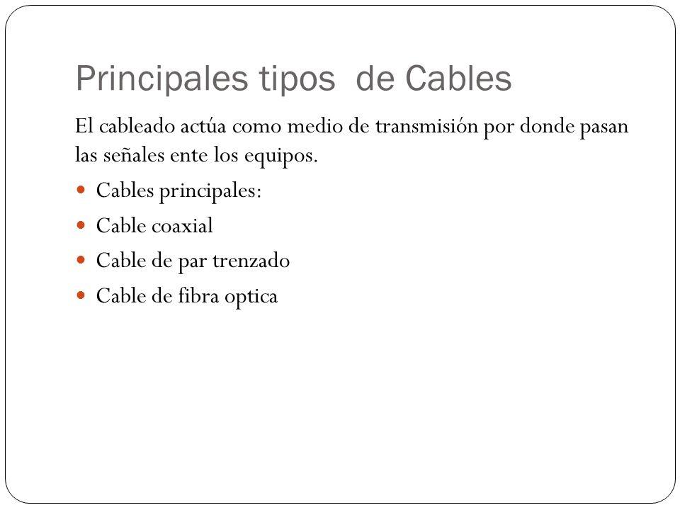Principales tipos de Cables