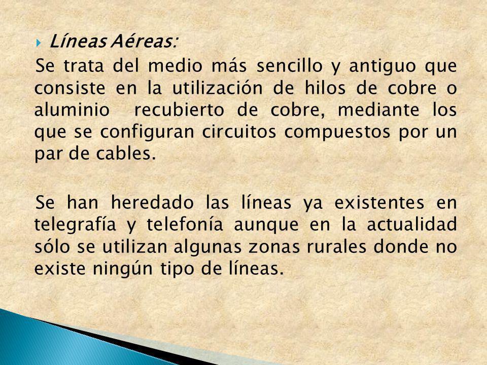 Líneas Aéreas: