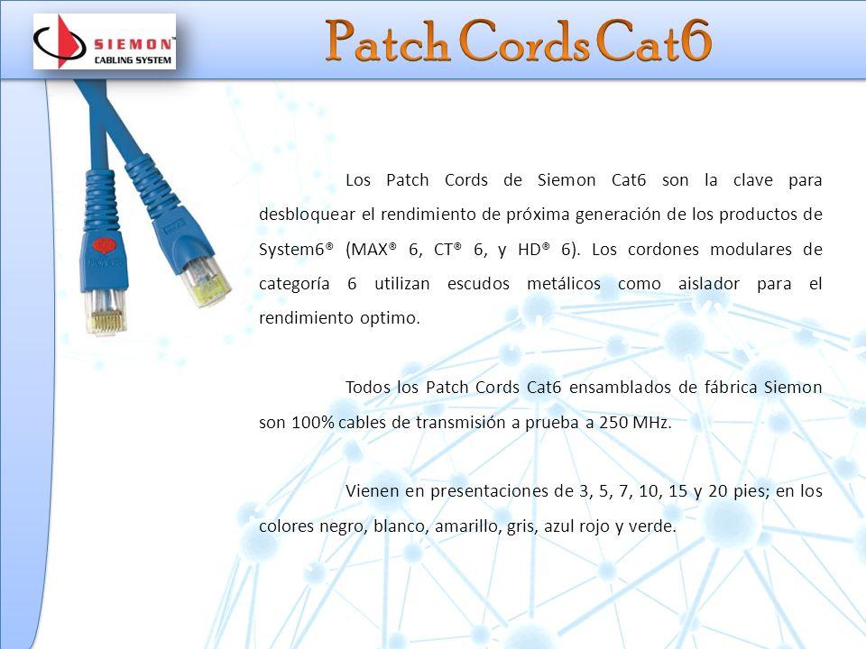 Patch Cords Cat6
