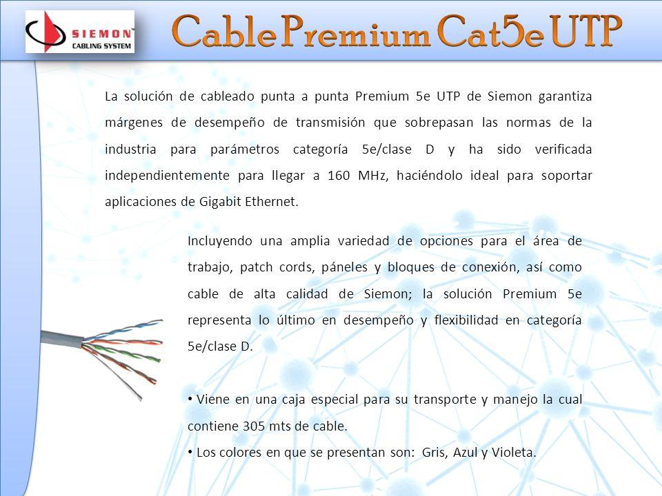 Cable Premium Cat5e UTP