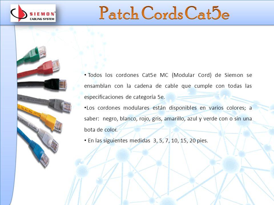 Patch Cords Cat5e